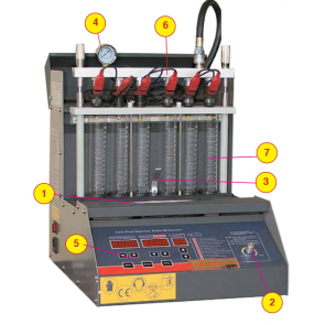 Uređaj za pranje i ispitivanje benzinskih injektora MT-7, 02.017.00