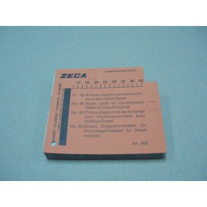 Kartice za kompresiometar diesel 366