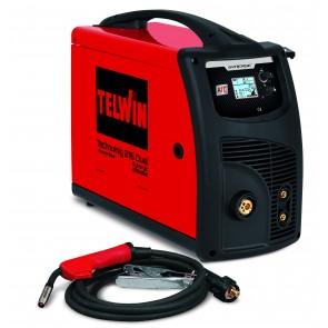TECHNOMIG 215 DUAL SYNERGIC - aparat za MIG-MAG/FLUX, MMA i TIG DC LIFT zavarivanje