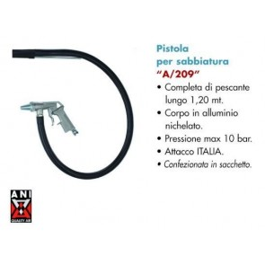 Pneumatski pištolj za pjeskarenje A/209 11/A